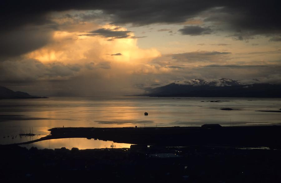 Beagle Channel - Sunset