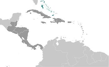 Bahamas, The in Central America and Caribbean