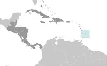 Barbados in Central America and Caribbean