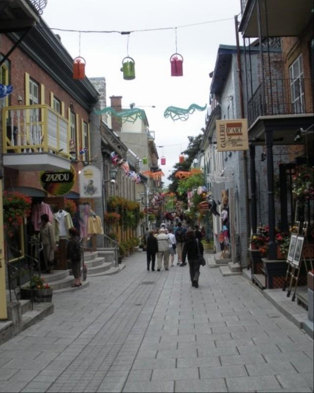 Street scene, Quebec City