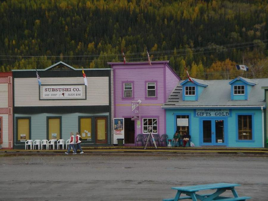 Dawson City, Photo: H. Maurer, Fall 2005