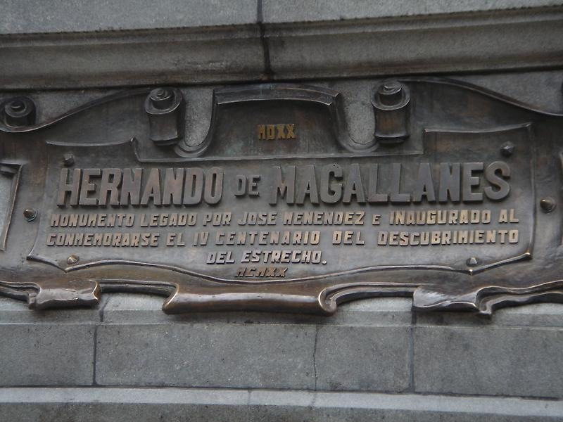 Memorial to Ferdinand Magellan