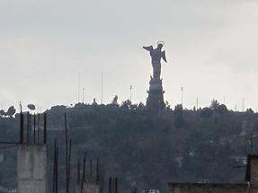 The Virgin of the Apocalypse statue (1)