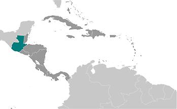 Guatemala in Central America and Caribbean