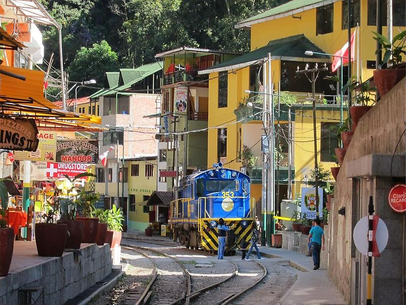 Trains to Aguas Calientes