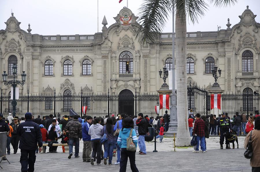 Plaza Mayor - Government Palace