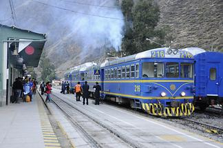 Ollantaytambo - Train Station