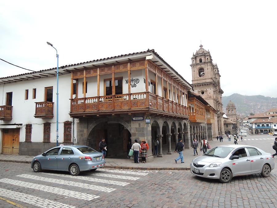 Plaza de Arma in Cusco