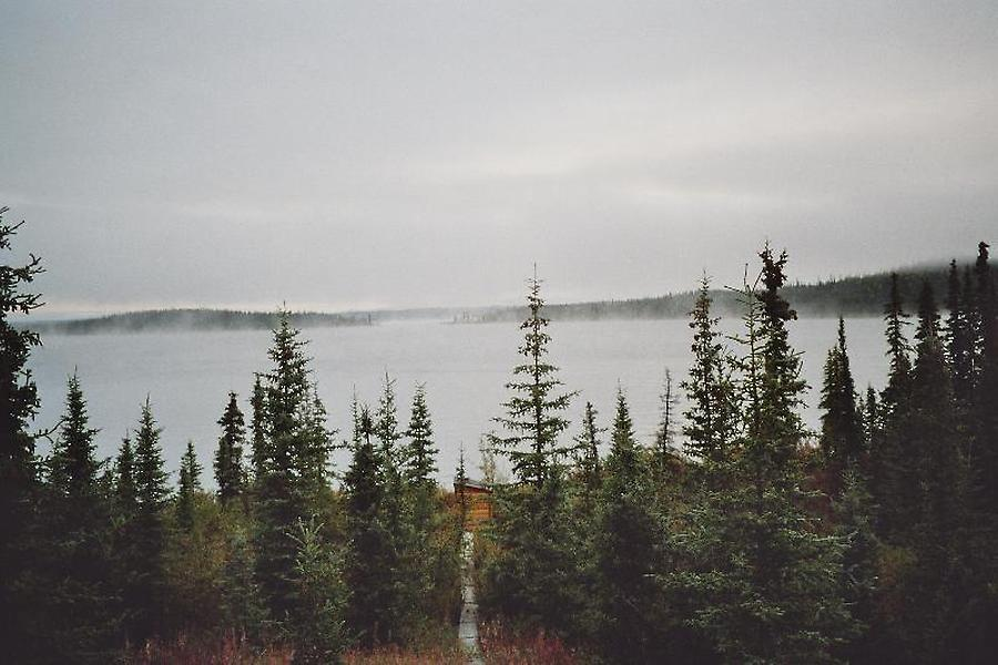 Fog over lake, Photo: H. Maurer, 2005