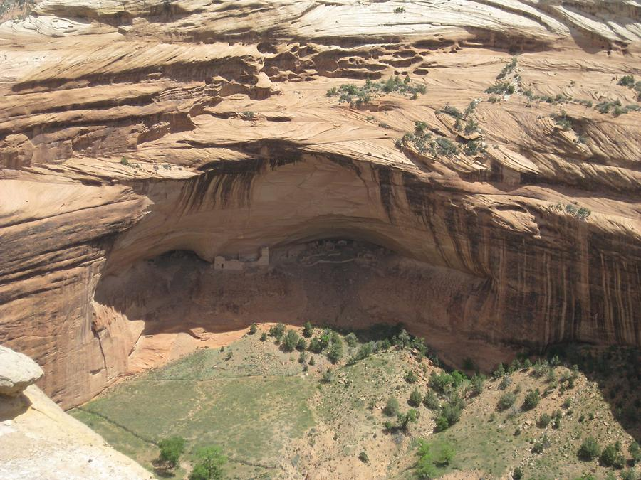 Canyon De Chelly National Park White House Ruins
