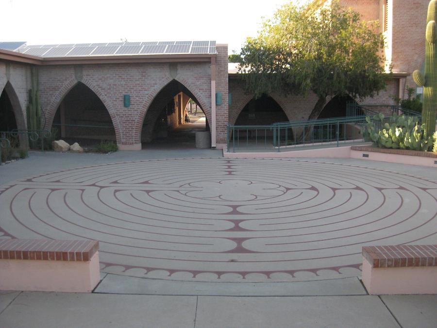 Tucson Grace St. Paul's Episcopal Church Labyrinth