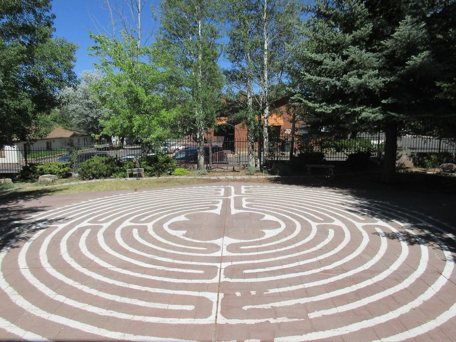 Flagstaff - Episcopal Church of the Epiphany - Labyrinth