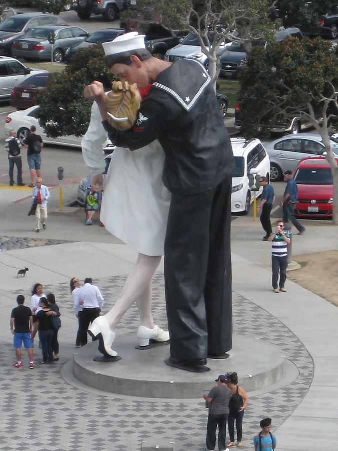 San Diego Sculpture Unconditional Surrender by Seward Johnson