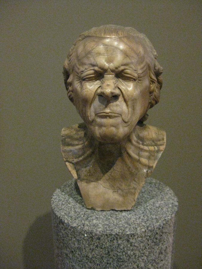LA Getty Center The Vexed Man Franz Xaver Messerschmidt