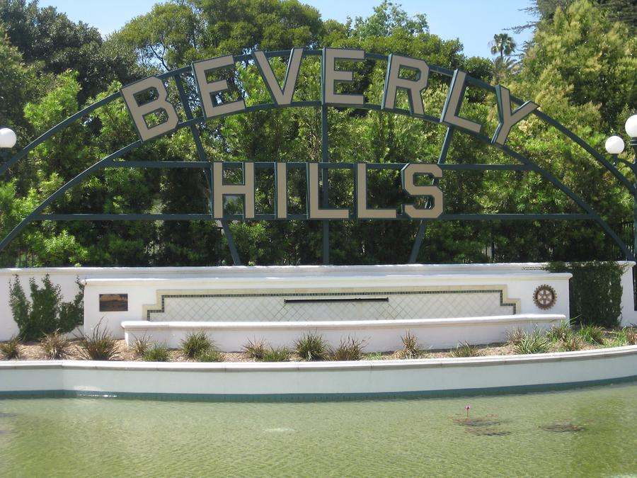 Beverly Hills Beverly Hills Sign
