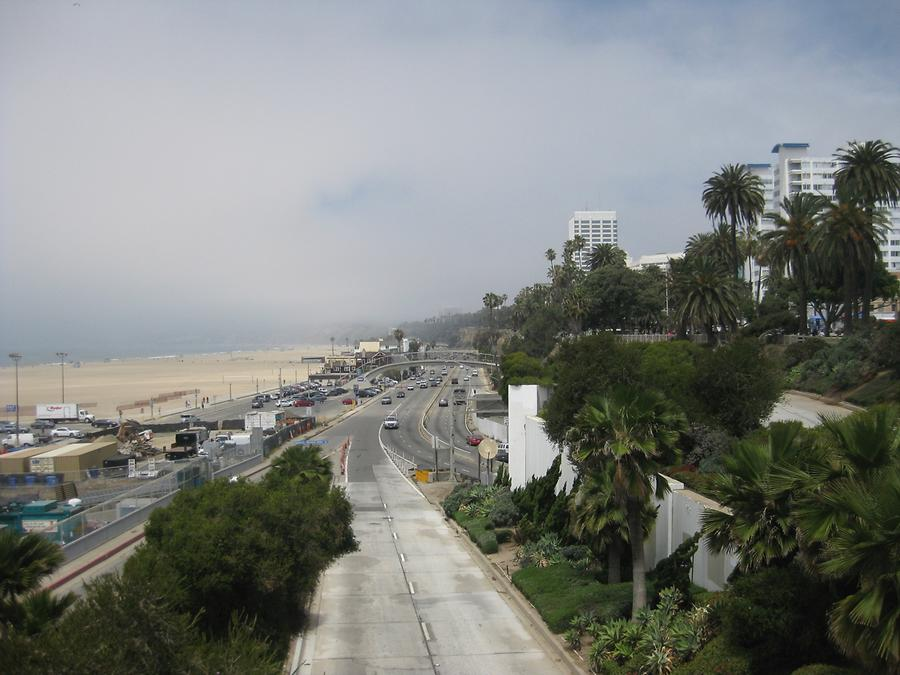 Santa Monica Beach & Highway 1