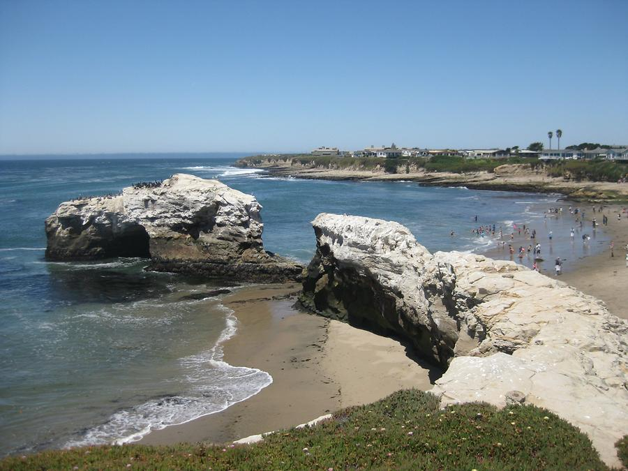 Santa Cruz Natural Bridge State Beach