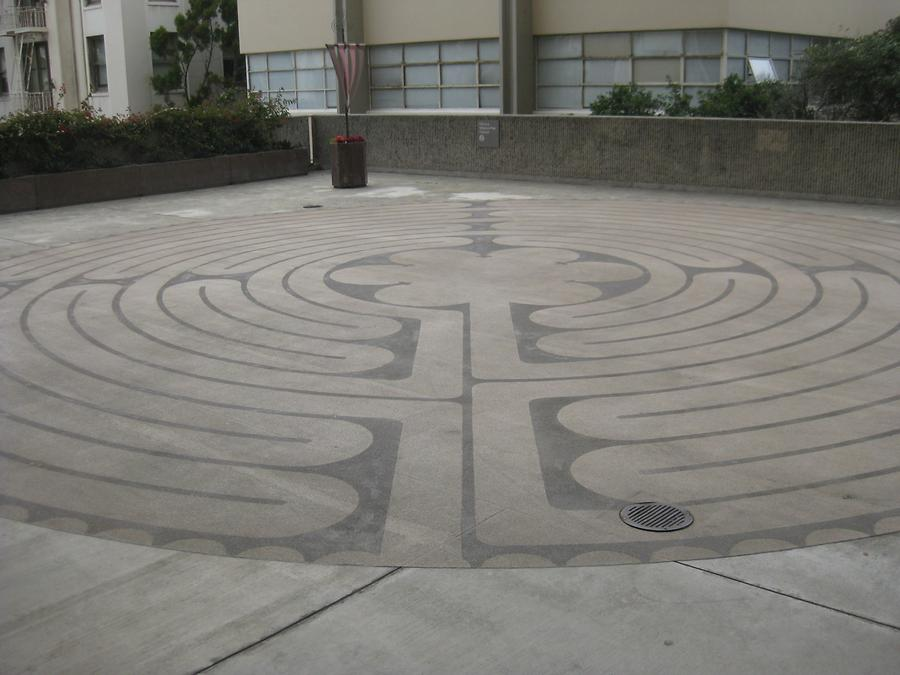 San Francisco CPMC Pacific Campus Labyrinth
