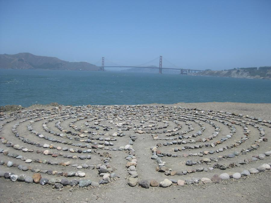 San Francisco Lands End Mile Rock Labyrinth