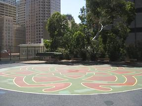 San Francisco St. Mary's Square Maze