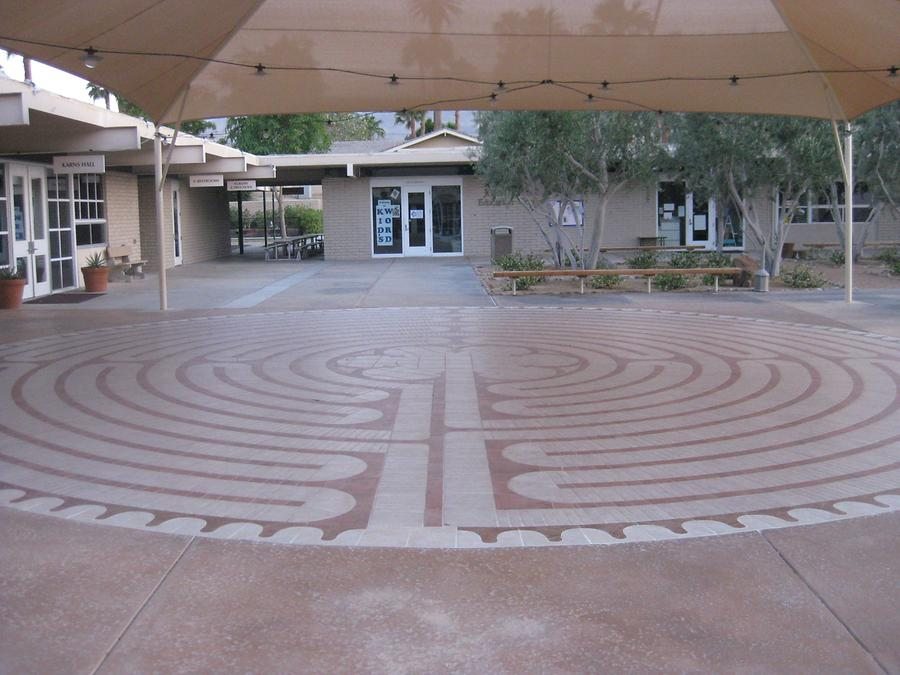 Palm Desert St. Margaret's Episcopal Church Labyrinth