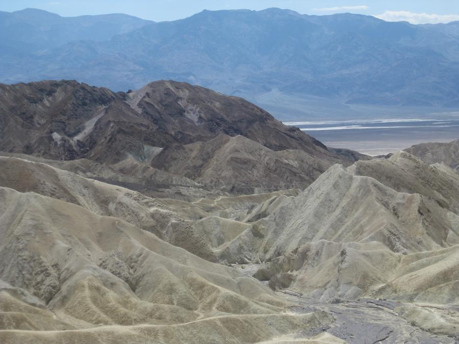 Death Valley National Park Zabriskie Point