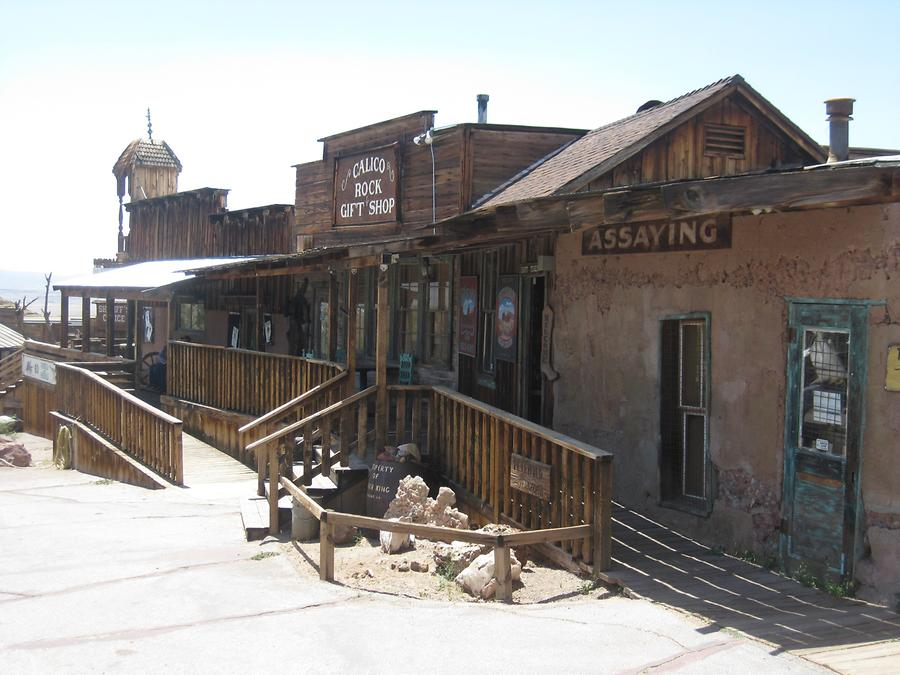 Yermo Calico Ghost Town