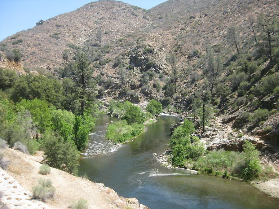 Johnsondale Kern River Canyon