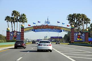 Disney World - Entrance