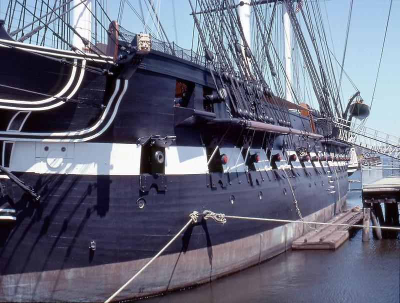 Gun ports of the USS Constitution