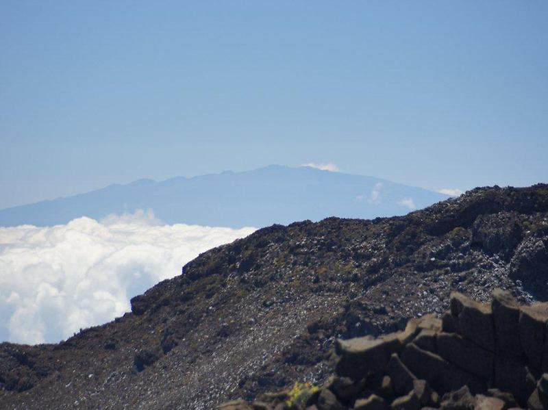 Vista from top of Haleakala