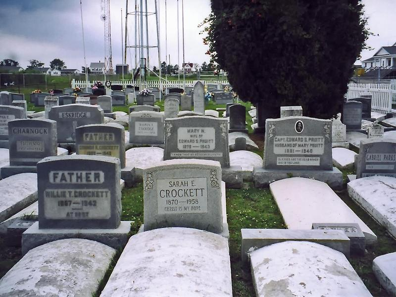 Cemetery on Tangier Island