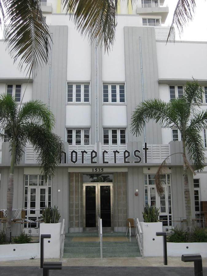 Miami Beach Art Deco Shorecrest
