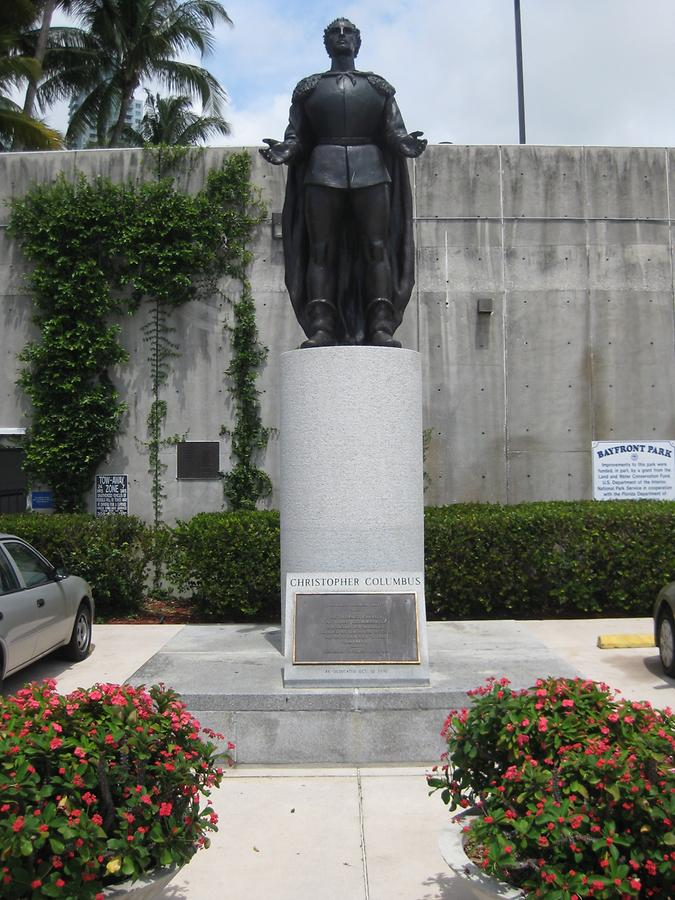 Miami Christopher Columbus Monument