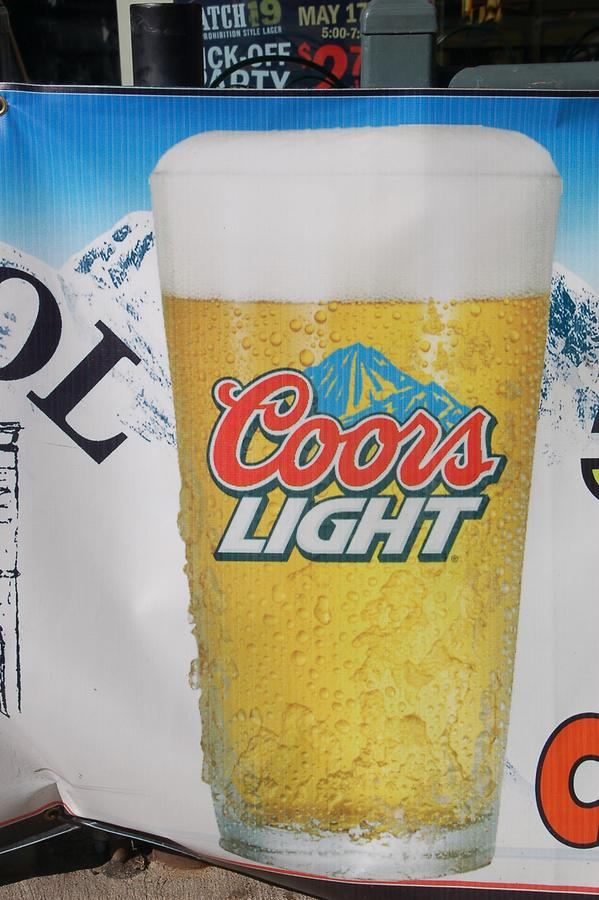 Coors Light brewed in Golden