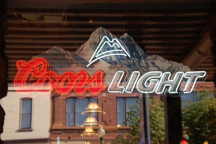 Coors again advertised in Golden