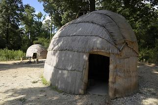 Jamestown Settlement - Indian Town (1)