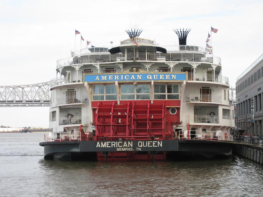 New Orleans Mississippi Waterfront American Queen