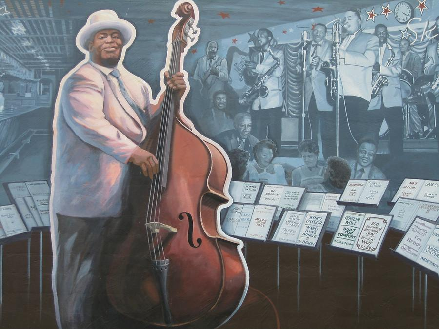 Vicksburg Riverfront Murals Blues