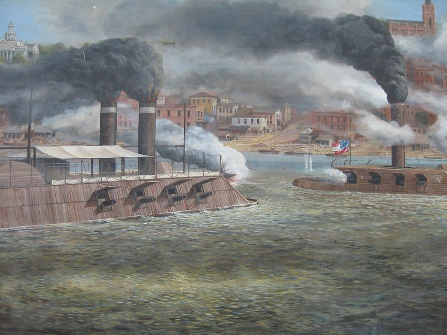 Vicksburg Riverfront Murals Civil War on the Mississippi River