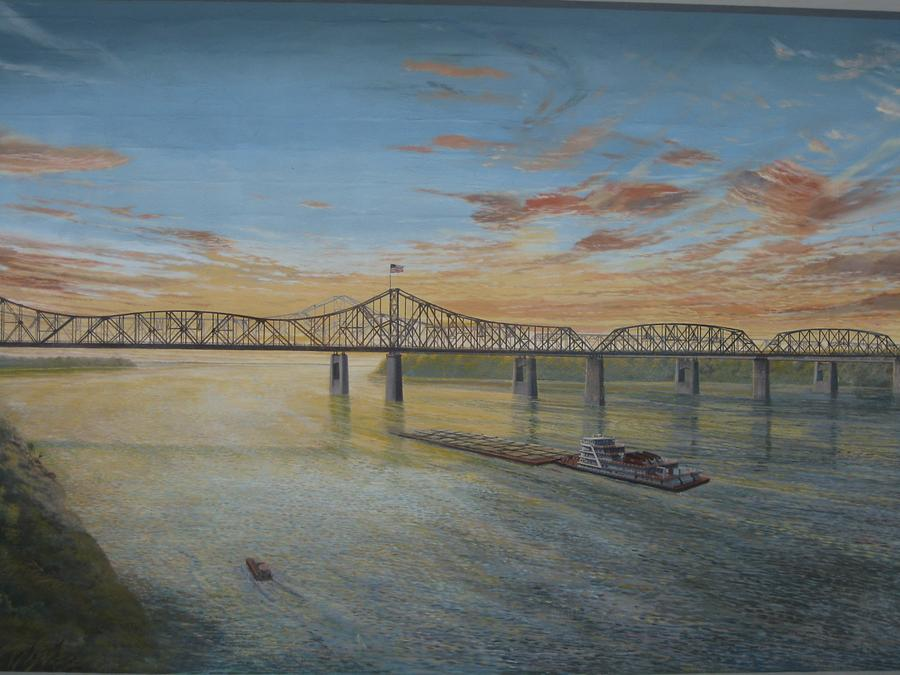Vicksburg Riverfront Murals Two Bridges