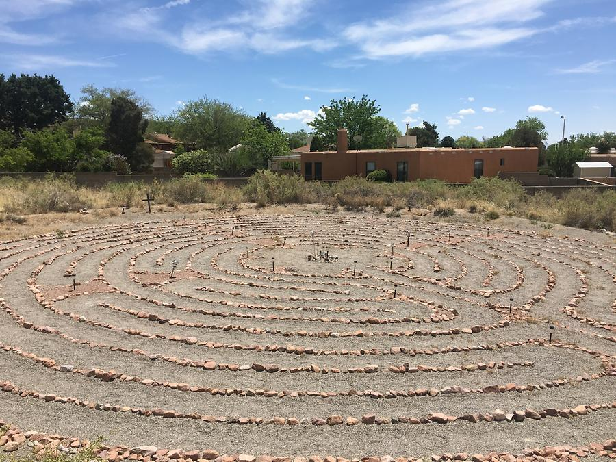 Albuquerque - New Life Presbyterian Church Labyrinth