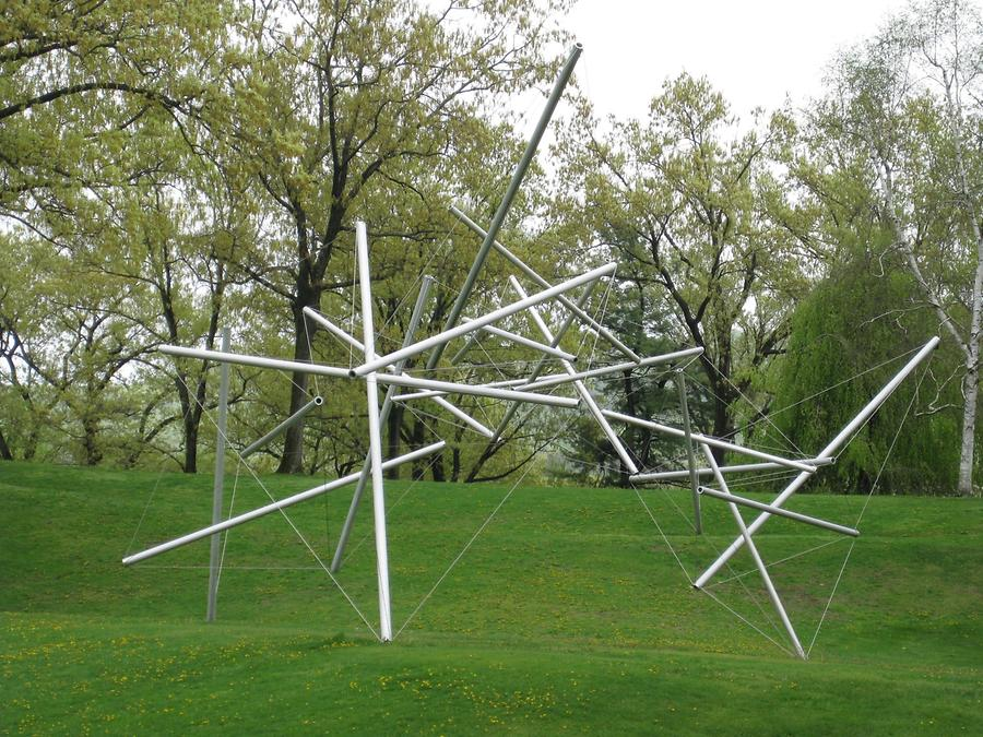 Cornwall-on-Hudson Storm King Art Park Free Ride Home von Kenneth Snelson