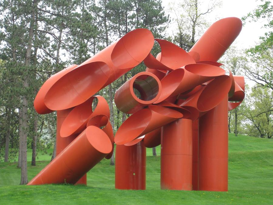Cornwall-on-Hudson Storm King Art Park Painted Steel von Alexander Liberman