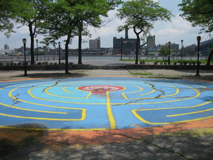 NYC East River Park Labyrinth