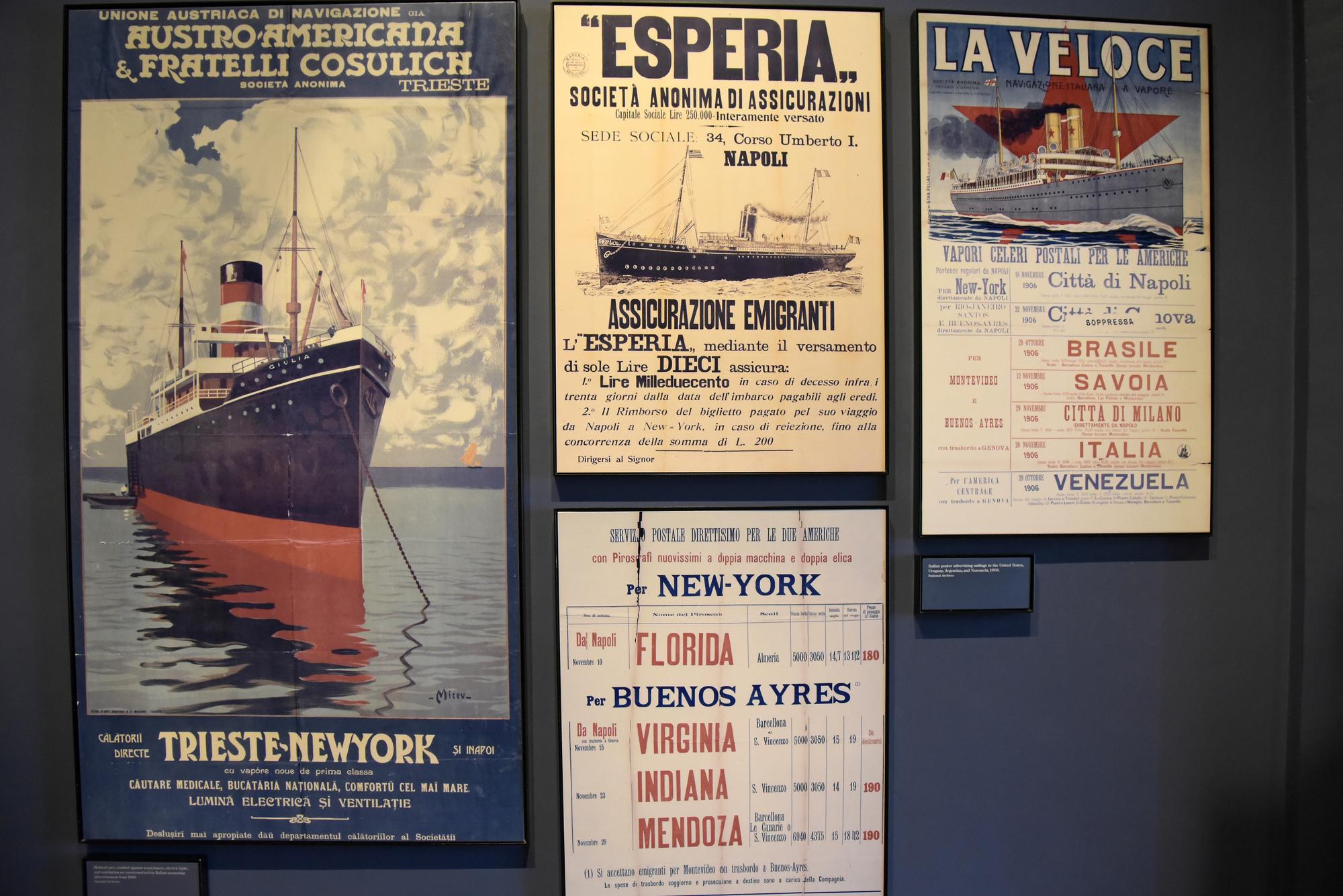 Ellis Island - Immigration Museum; Ferry Poster | New York ...
