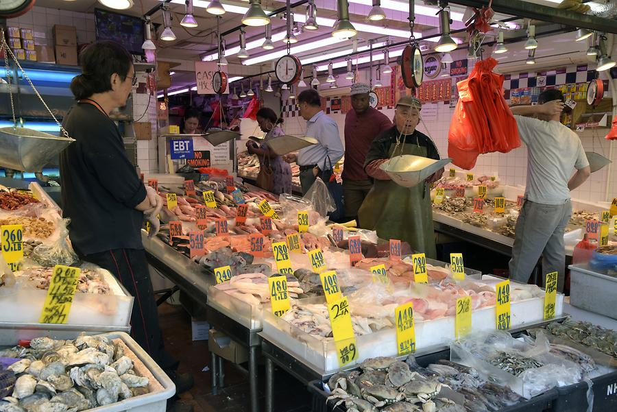 Chinatown - Fish Market