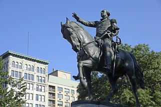 Union Square - Statue of George Washington