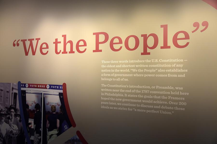 Independence National Historical Park - National Constitution Center; Inside