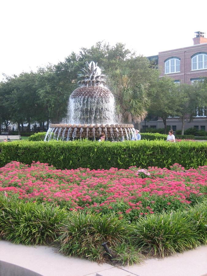 Charleston Pineapple Fountain
